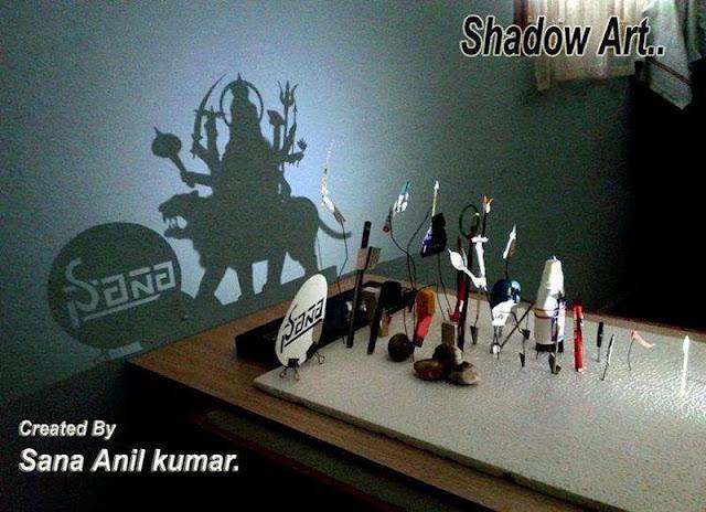 Shadow Art by Sana Anil Kumar