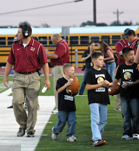 Raider Ball Boys and the Coach