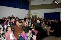 A Casa de Cultura ficou cheia para a comemoração dos 32 anos da Soarte