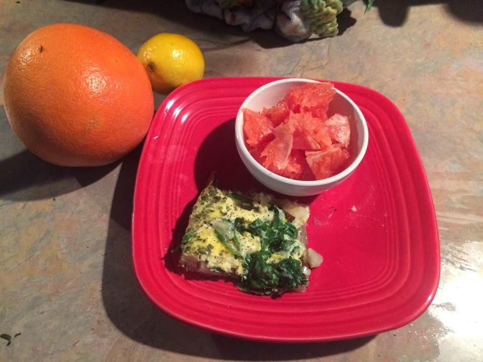 Eat clean Breakfast, eat clean, Eat clean cheap, Breakfast, eggs, fruit, egg frittata, Sara Stakeley, Sarastakeley.com, PCOS chef, Sunday, Sunday Breakfast,