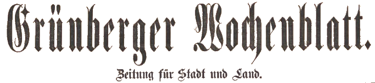 Zielonogorska.pl Grünberger Wochenblatt