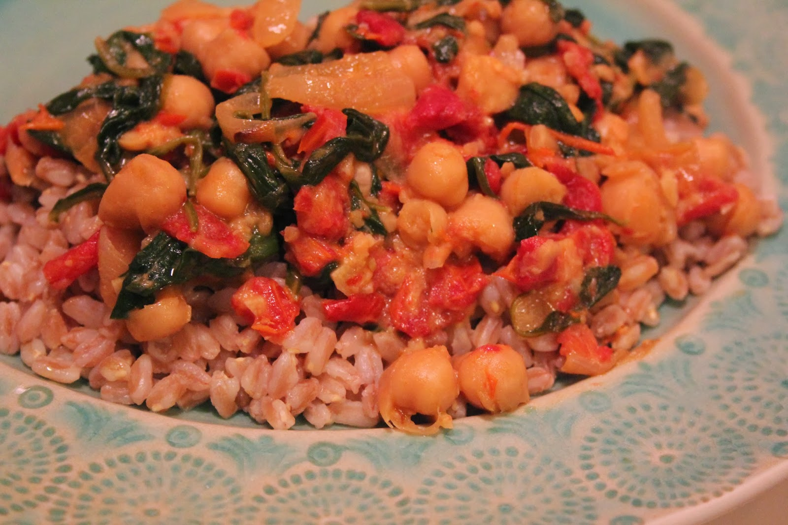 Strictly Nutritious: RECIPE TIME: Braised Coconut Spinach ...