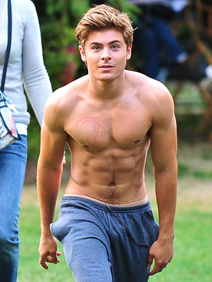 The Top 25 Best Pictures of Zac Efron ShirtlessZac Efron Body