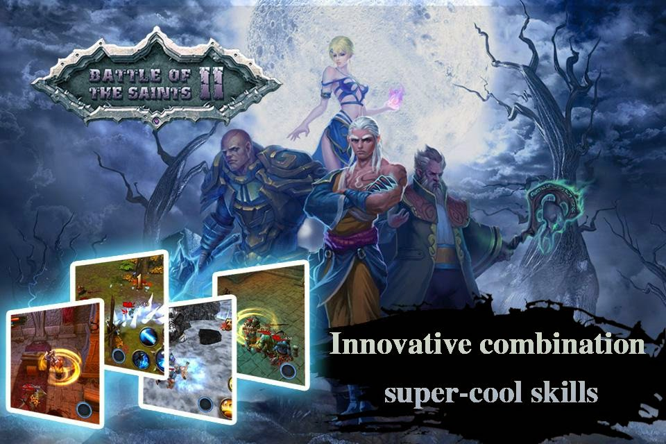Battle Of The Saints II Apk Mod Unlimited Golds