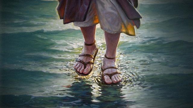 Jesus Caminhados sobre as águas