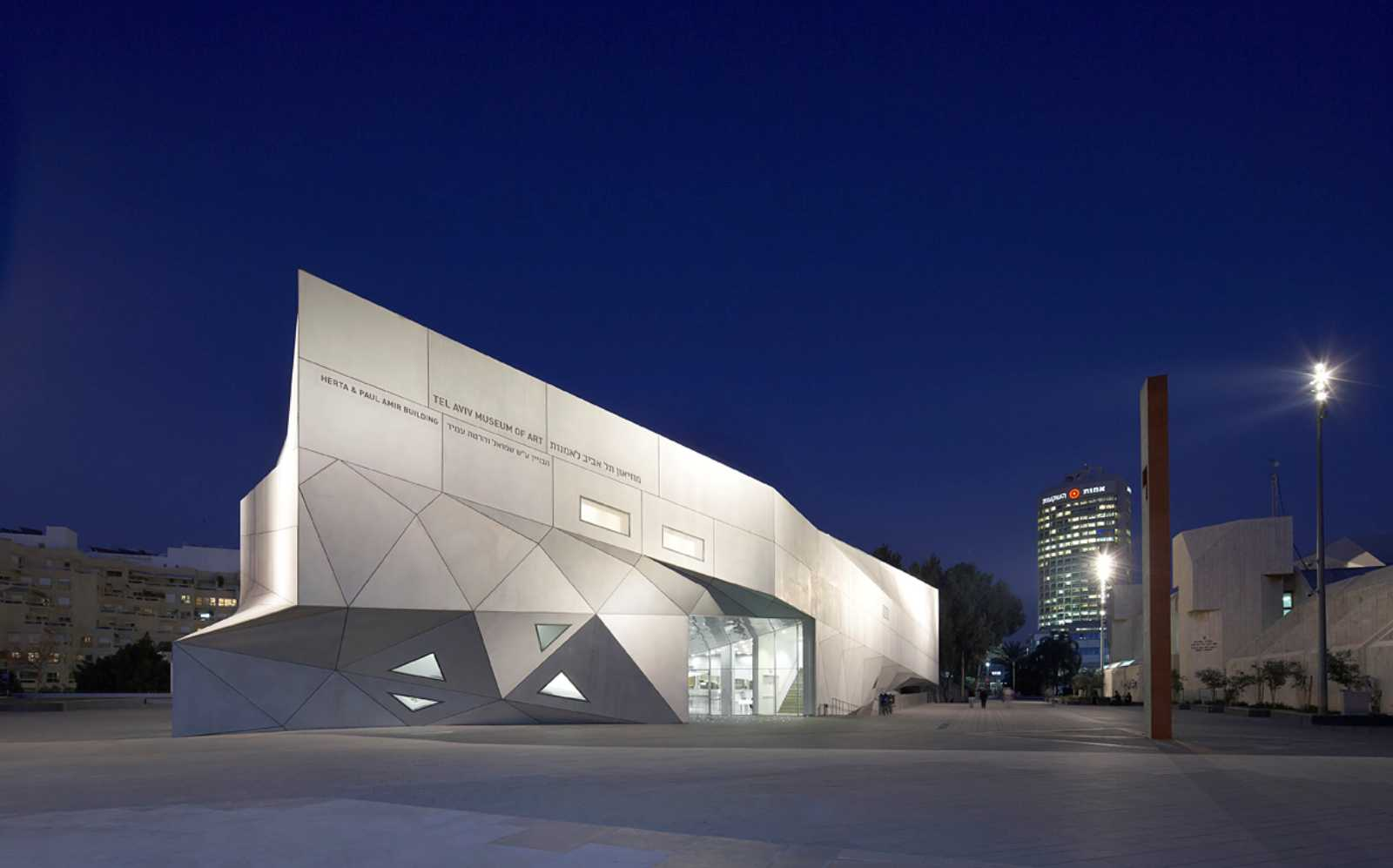 Tel Aviv Museum Of Art By Preston Scott Cohen