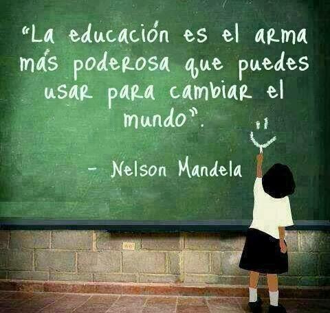 La educación según Nelson Mandela