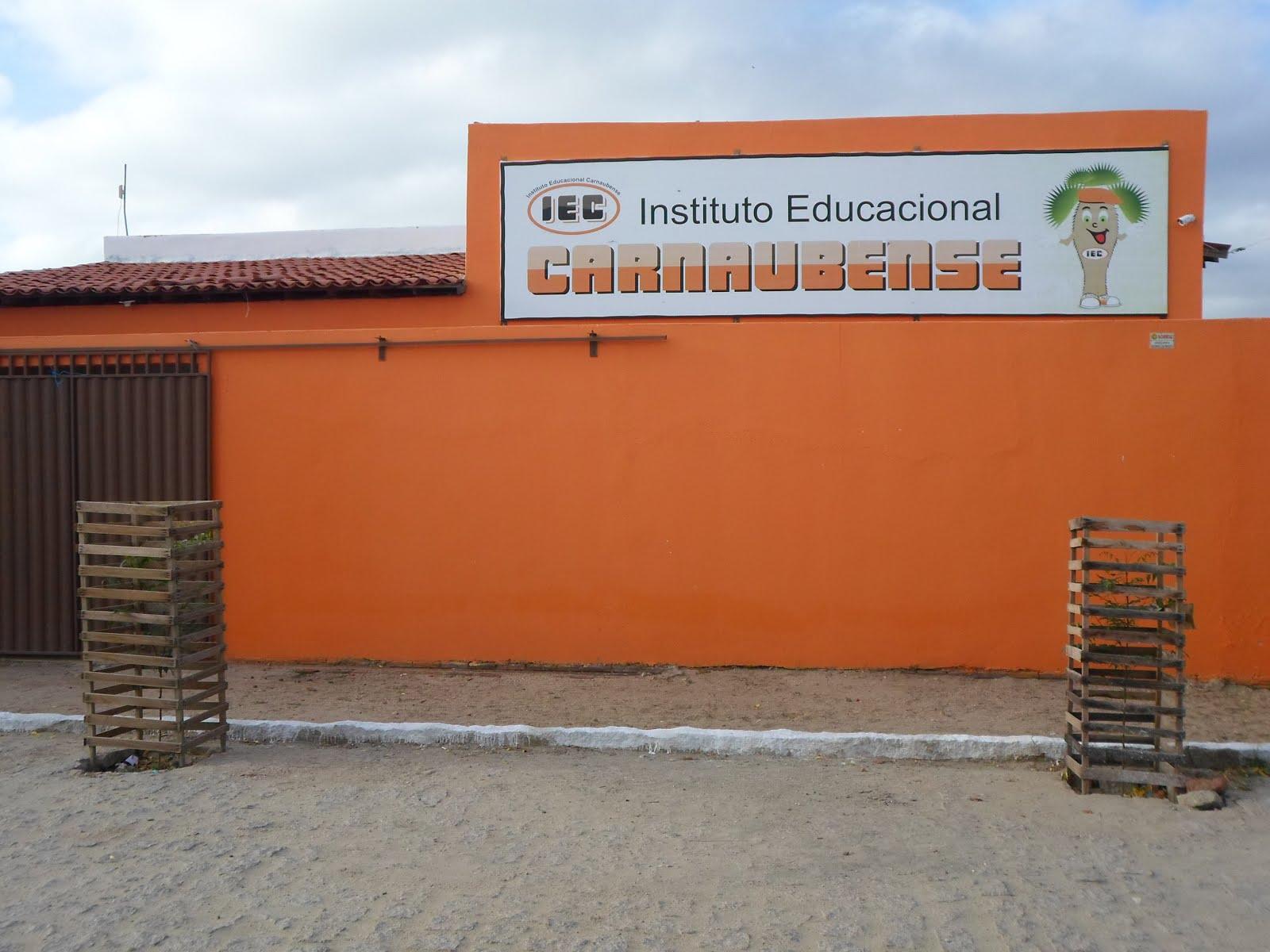 PUBLICIDADE: INSTITUTO EDUCACIONAL CARNAUBENSE