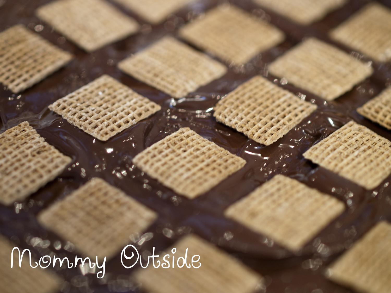 Shreddies Chocolate Peanut Butter