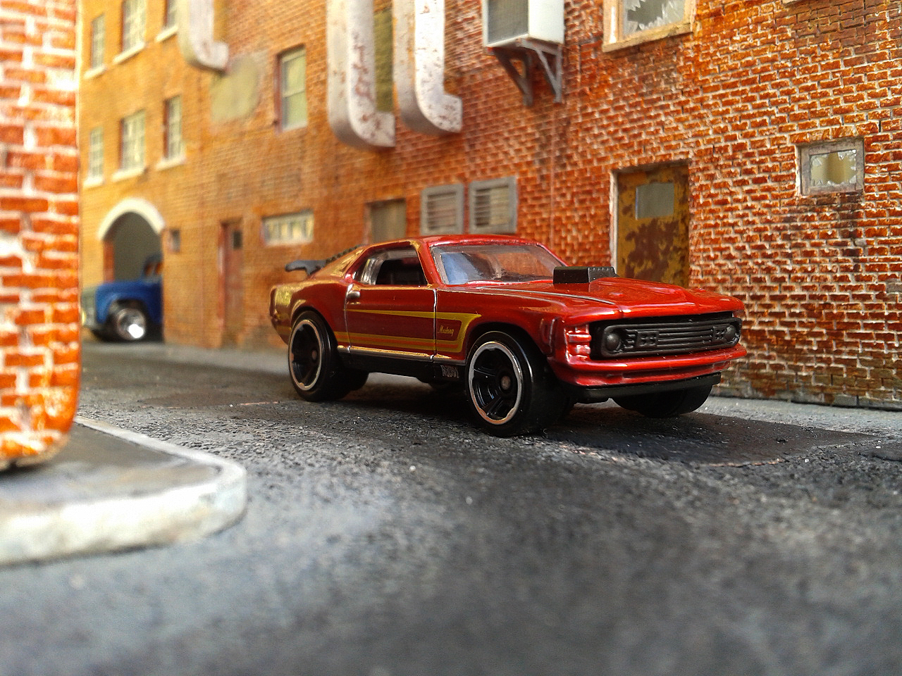 Diecast Cars Habitat Ford Mustang Mach 1 1970