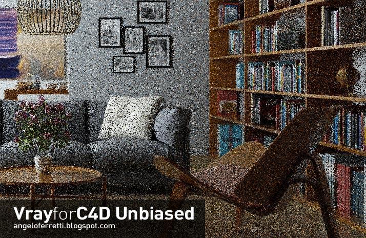 VrayforC4D unbiased Tutorial