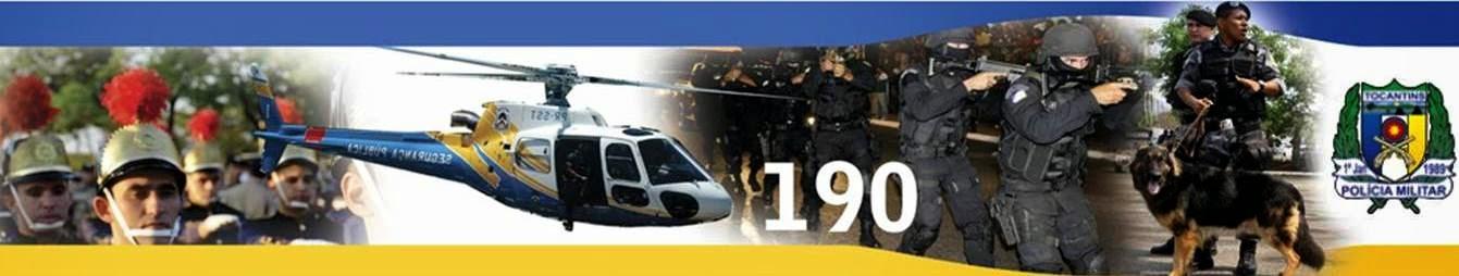 Portal da Polícia Militar do Tocantins