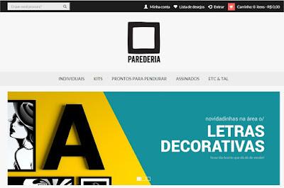 loja de quadros e molduras, blog Achados de Decoração