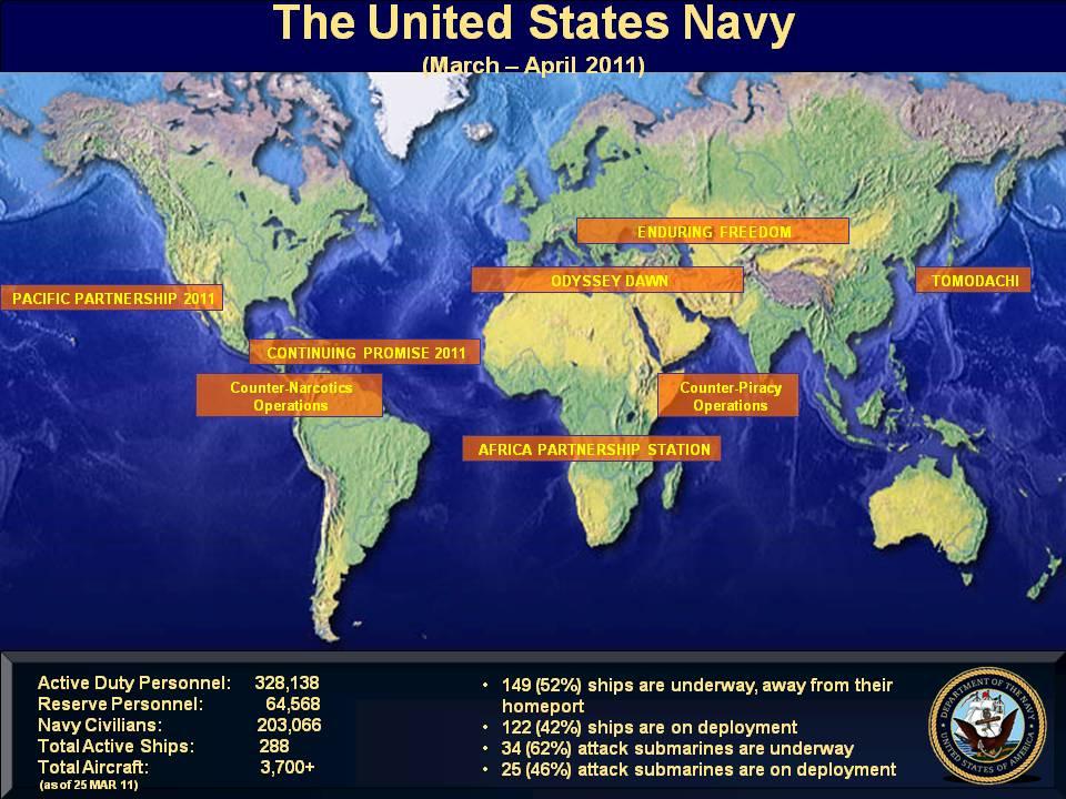 Us Navy Madrid Map - Us navy map blue submerged