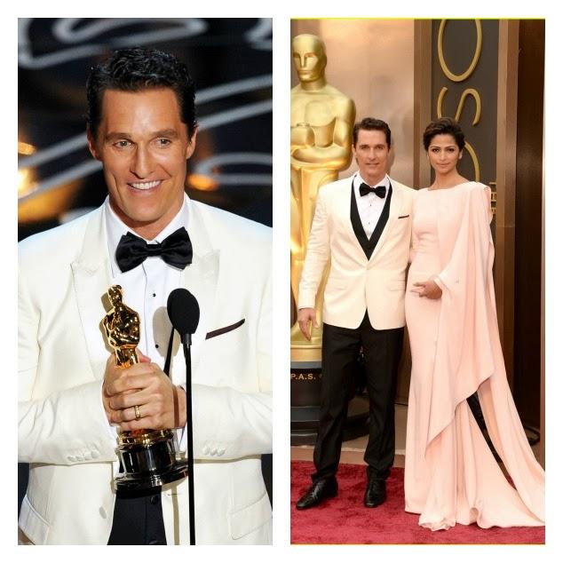 Matthew McConaughey oscar 2014