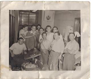 Marvel Bullpen circa late 1940s