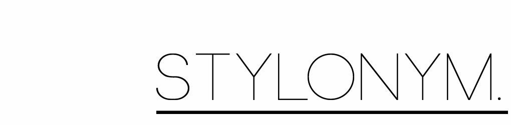 STYLONYM.