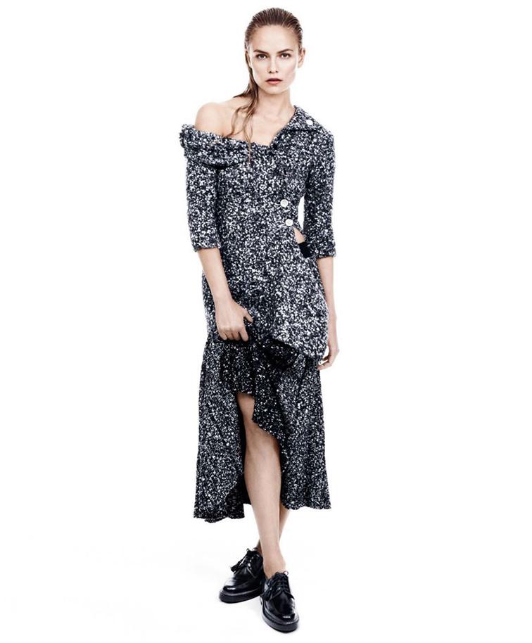 Natasha Poly by Daniel Jackson for Harpers Bazaar US September 2014