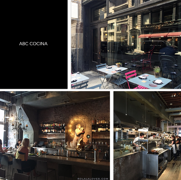 ABC Cocina Review, Jean-Georges Vongerichten Restaurant