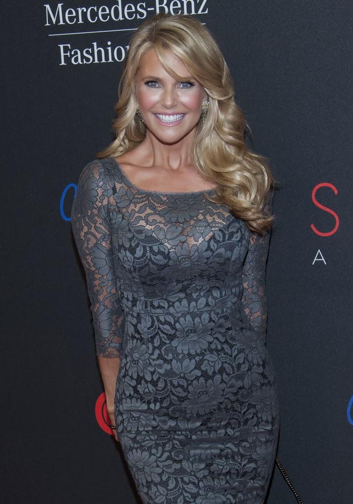 Christie Brinkley => Christie Brinkley's Anti-Aging Hair Secret | My ...