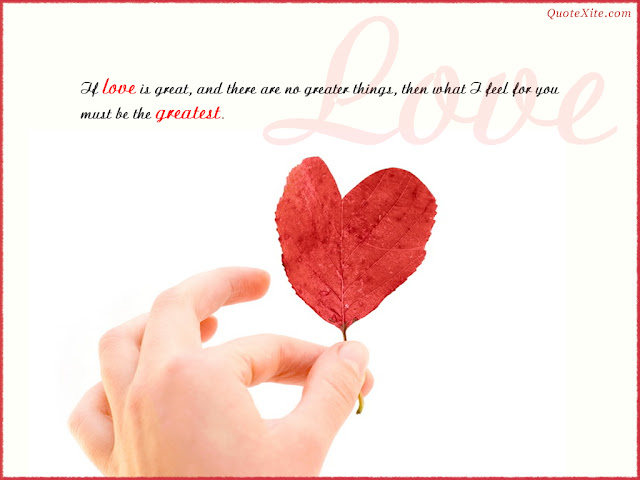 my love great quote