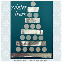 winter shape trees