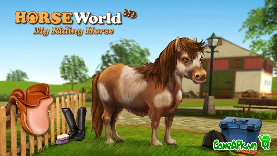 HorseWorld 3D v1.9 hack full tiền cho Android