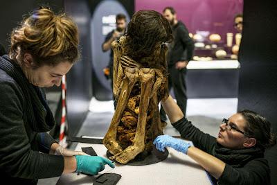 Εκπληκτικά καλά διατηρημένα, χιλίων χρόνων μούμια θα εκτεθεί για πρώτη φορά