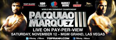Manny Pacquiao vs Juan Manuel Marquez 3