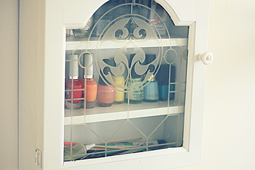 DIY Repurposed Spice Rack