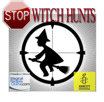 Stop witch hunts stop witch huntings stop witch trials