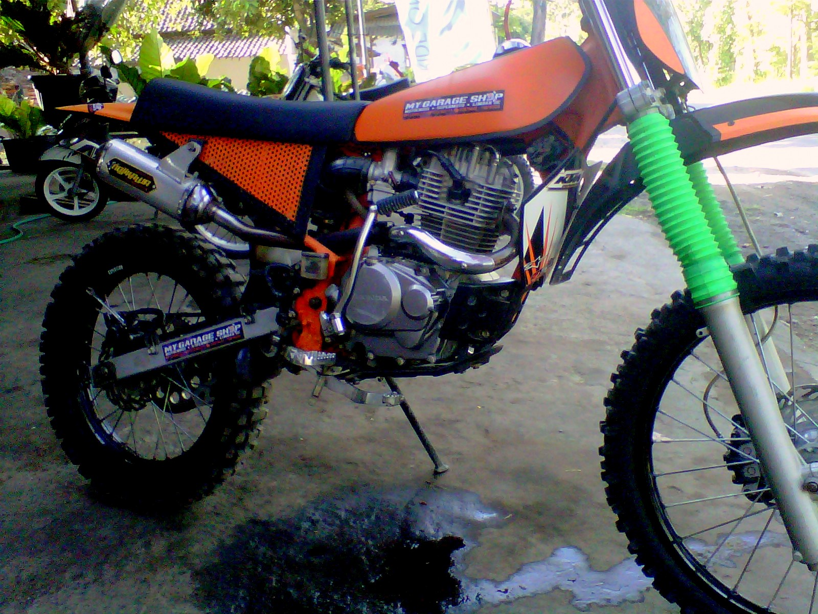 ide modifikasi motor trail adventure