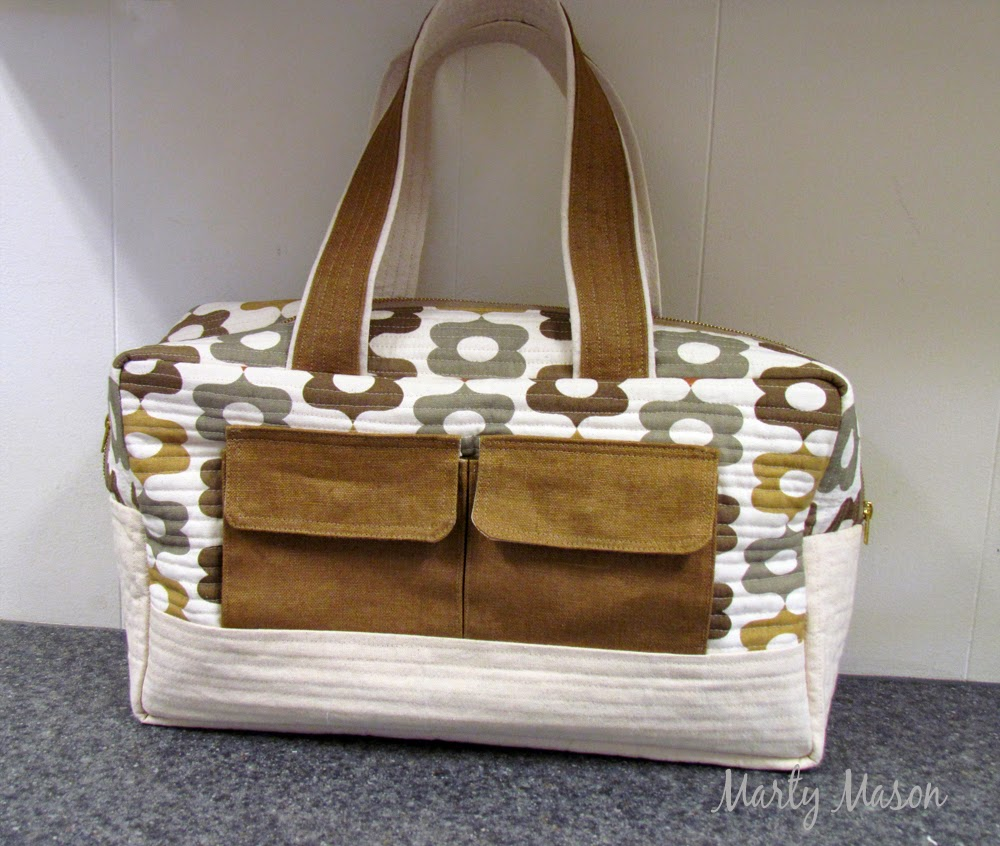 Cargo Duffle Bag.....a noddlehead pattern made by Marty Mason