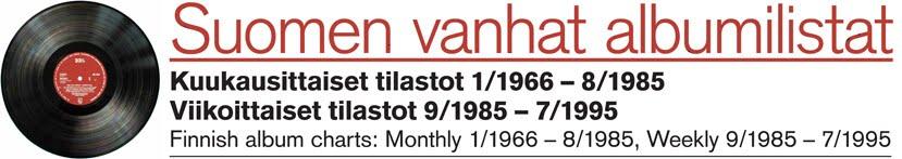 Suomen vanhat albumilistat