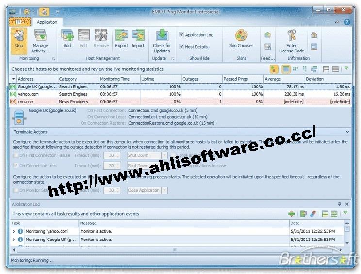 Emco ping monitor 4717