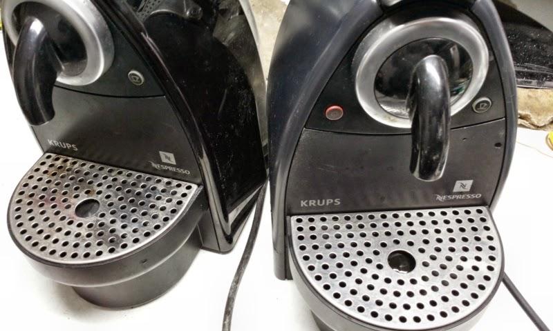 Maquina krups nespresso avariada