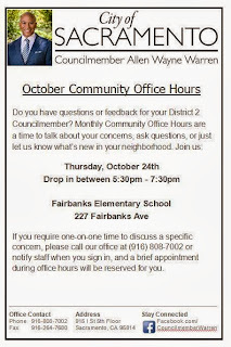 District 2 Office Hours in Strawberry Manor