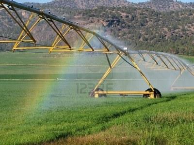 Sistema de riego en España