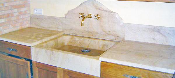 Evier cuisine marbre ~ Solutions pour la décoration intérieure de ...