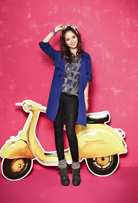 Song Ji Hyo Yesse Fall 2013 Pink