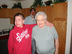 Great-Grandma Pearl and Ty