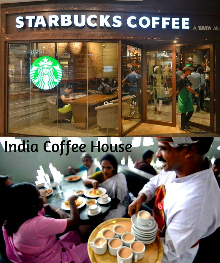 StarBucks Coffee, India Coffee House