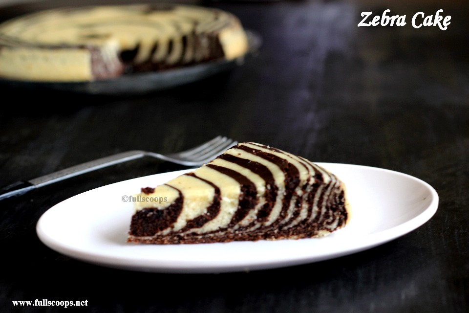 Easy Zebra Cake Recipe