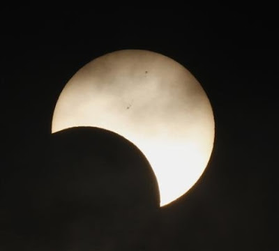 partial solar eclipse 2012