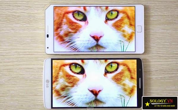 So sánh Sky A910 và LG G3.
