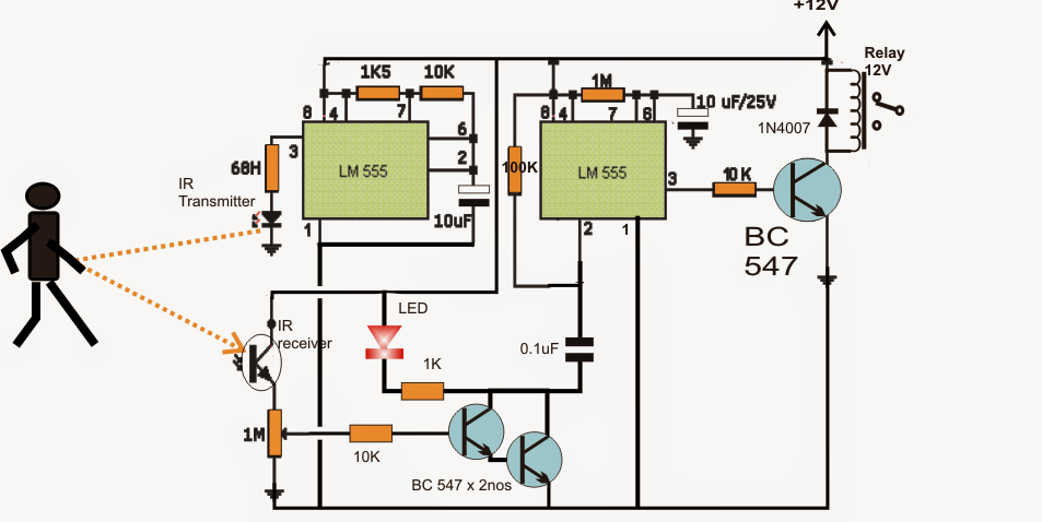 ments as well Proximity Detector Circuit Using Ic 555 moreover Motion Sensor Switch For Alarm Light Or Water Sprinkler as well Triac Dimmer Active Reset moreover Digital Count Down Timer Circuit Using Pic Controller. on timing light schematic