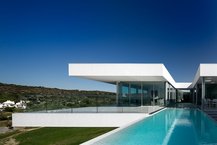 World of architecture incredible modern villa by mario martins Modern villa architecture design