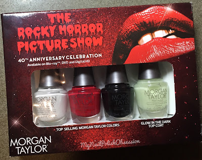 Morgan Taylor Rocky Horror Picture Show 40th Anniversary Celebration Collection