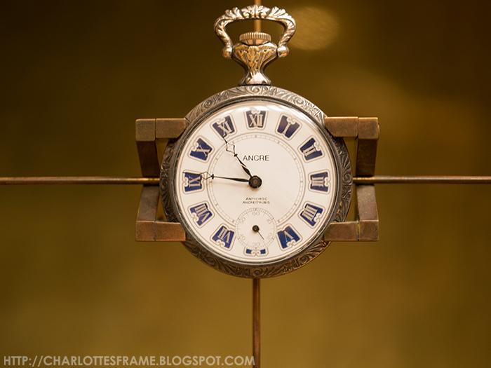 ancre clock at teylers museum, ancre horloge klokje