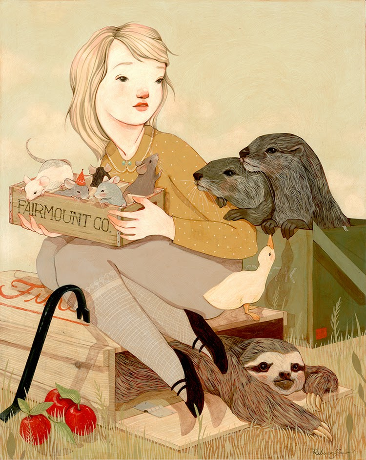 Rebecca Green, illustration